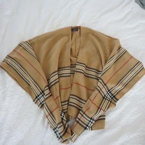 Shrug Burberry style pattern